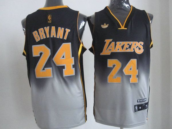 Adidas NBA Los Angeles Lakers 24 Kobe Bryant Fadeaway Fashion Swingman  Jersey fb174124c