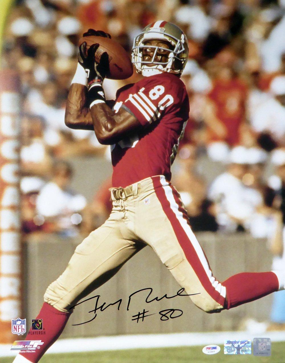 17319051523 Jerry Rice Autographed 16x20 Photo San Francisco 49ers