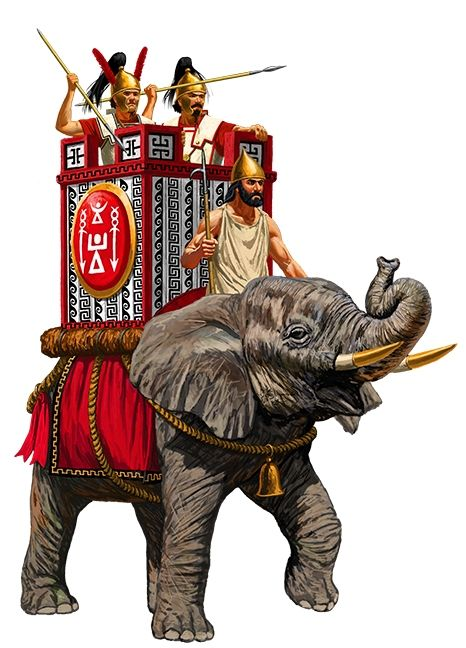 Carthaginian Elephant | ANCIENT PEOPLES | Punic wars ...