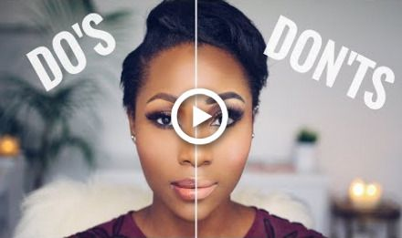 makeup dos and donts  beginner friendly  dimma umeh