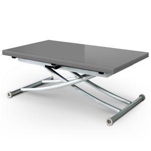 Table Basse Relevable Carrera Gris Laque