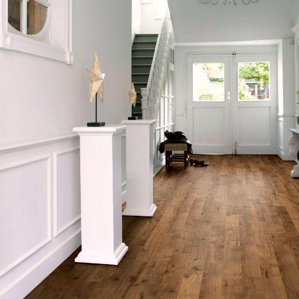 Quickstep rustic smoked oak laminate flooring ric1678 - Living room ideas with oak flooring ...