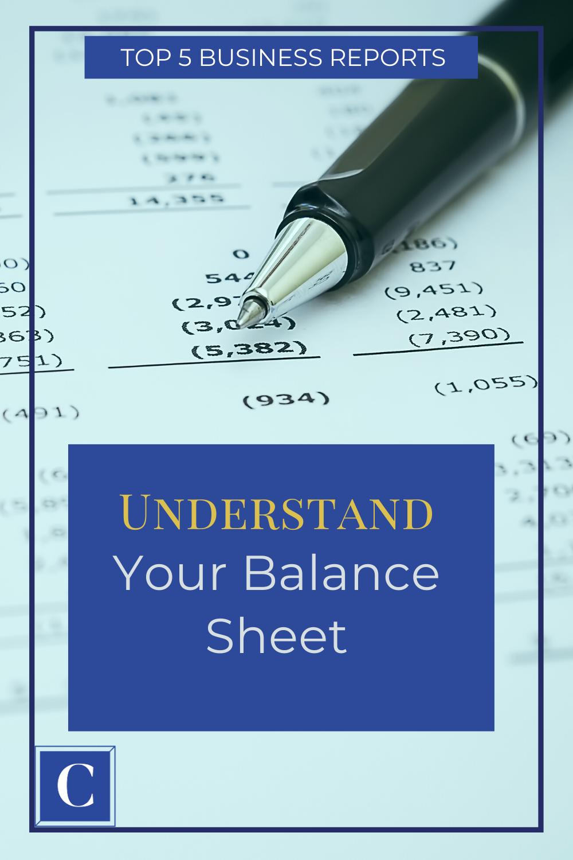 Clara Cfo Group Balance Sheet Business Finance Management Financial Management