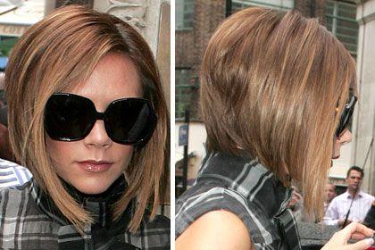 Victoria Beckham Hair Photos