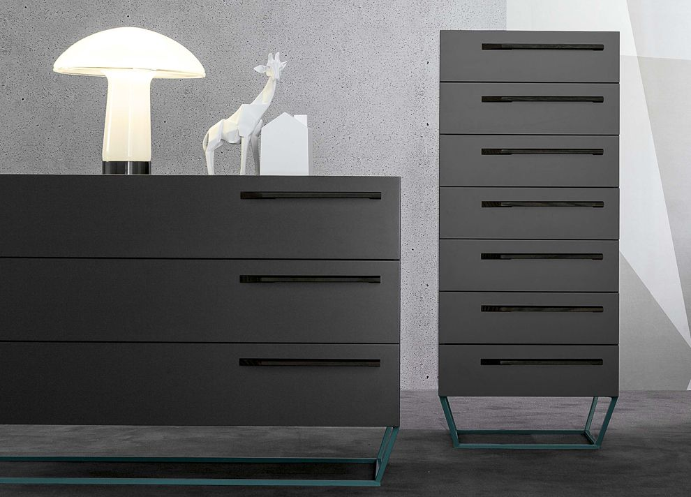 Bonaldo To Be Tall Chest Of Drawers