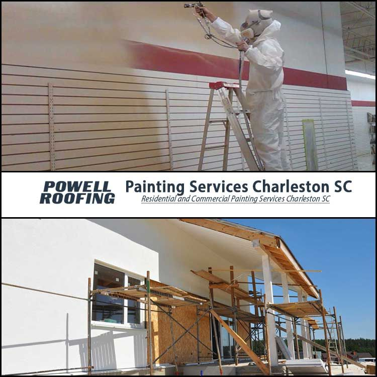 Powell Roofing Provides The Best Painters To Decorate Your Dream House Or Offices We Are The Best In The Field An Roofing Painting Services Commercial Roofing