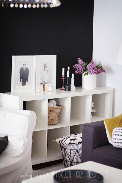 Via Fräulein Klein Black, White and Yellow Ferm Half Moon Ikea - wohnzimmer ideen ikea