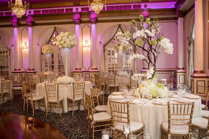 Wedding Venue Decor Table Ideas Fairytale Crystal