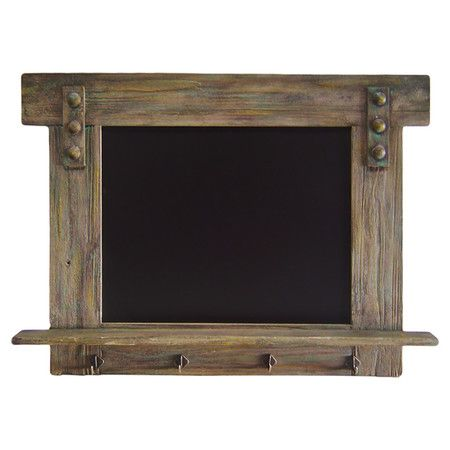 Use in guest room to go with rustic theme?   You should see this Chalkboard Coat Rack in Natural on Daily Sales!
