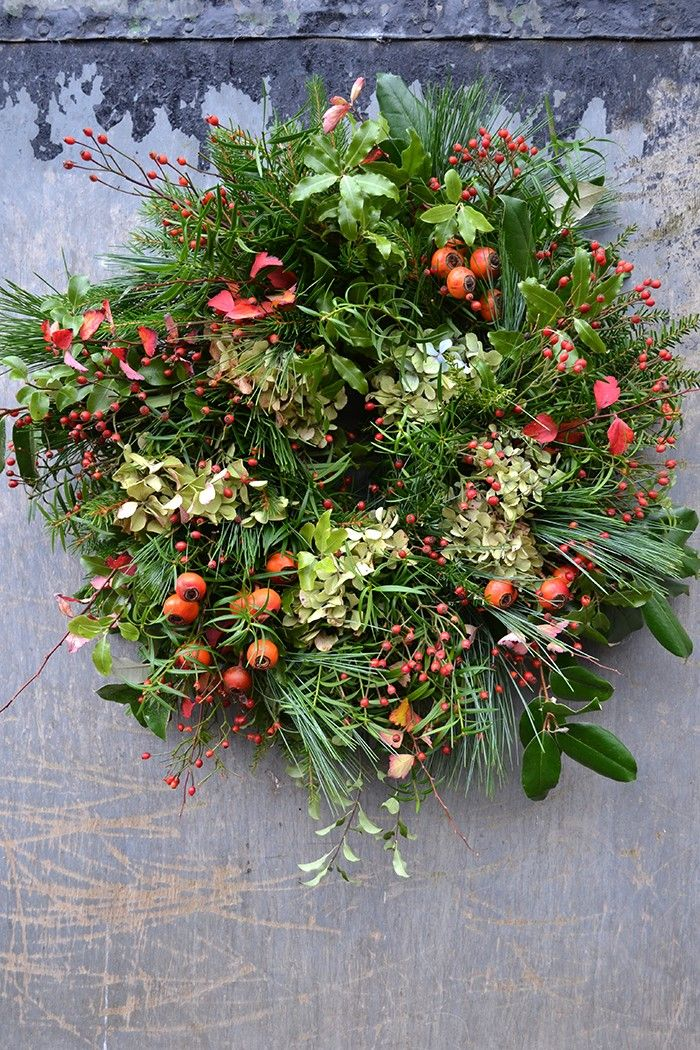 Rose Hip Wreaths From The Hedgerow | Flower company, Garden gate and ...