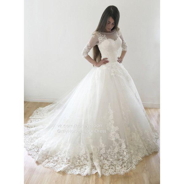 Ricco Wedding Dress Ball Gown Long Tail