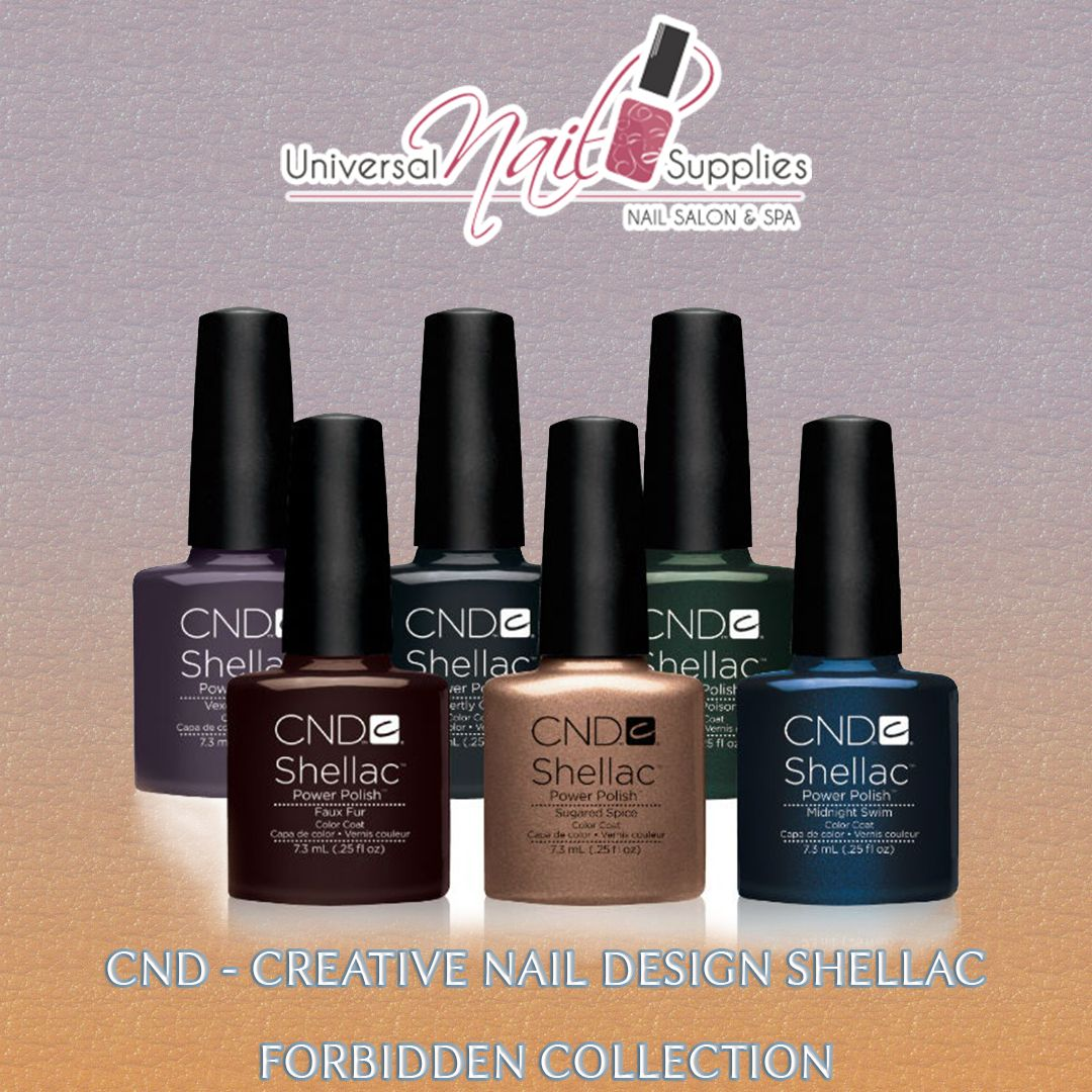 Play the odd even game with CND Shellac Aurora Collection Full Set. Have this glamorous set of matte and glittering nail shades to bring a burst of drama on your boring nails.