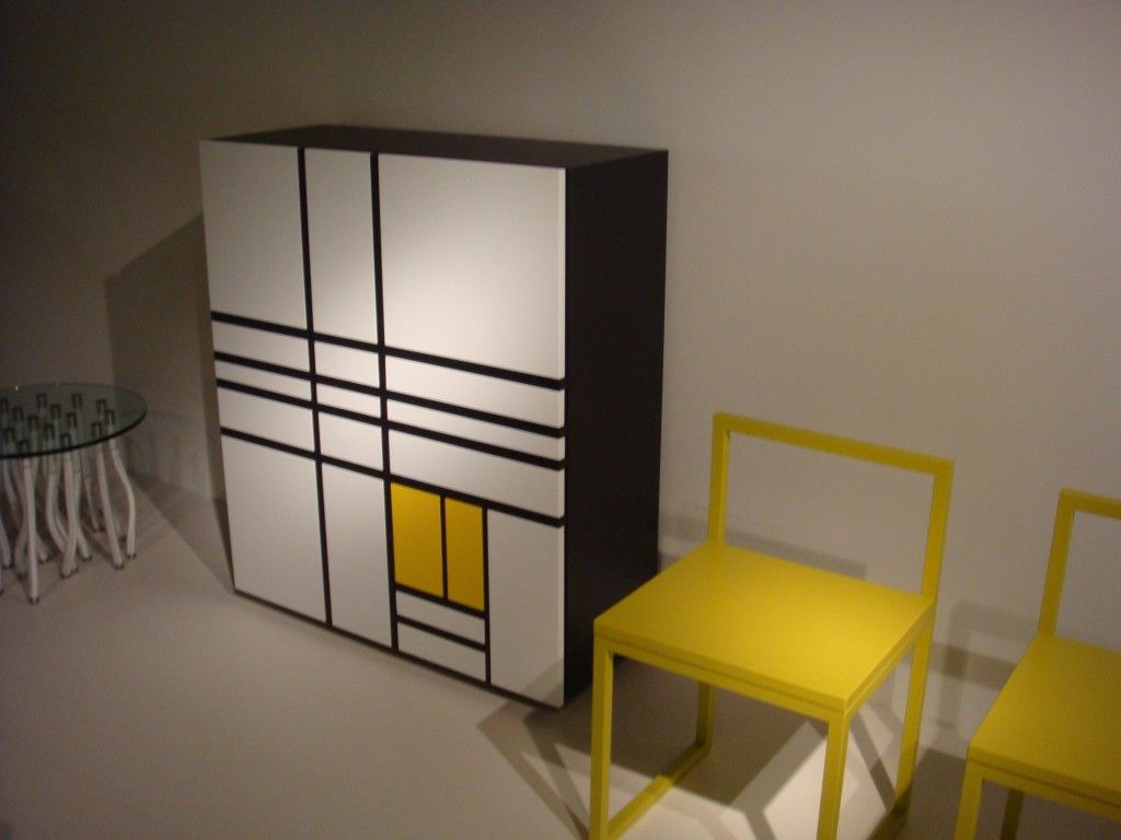 Mondrian Arredamento ~ Homage to mondrian cabinet from cappellini designed by shiro