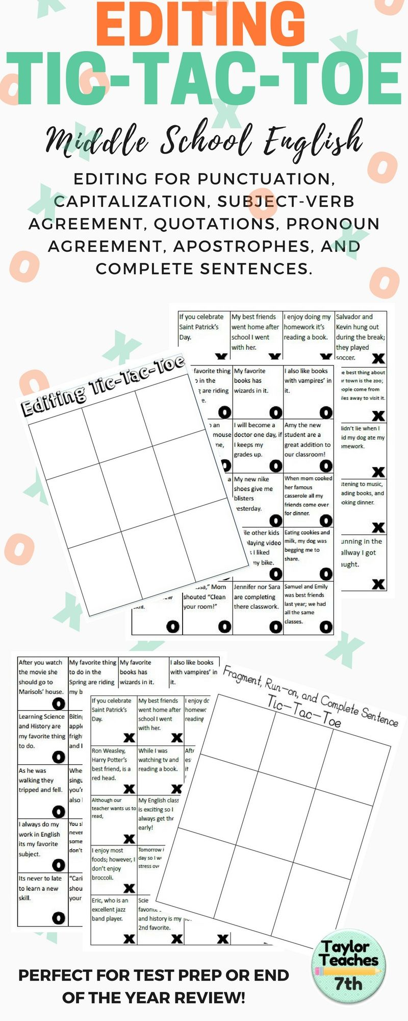 Pin de Taylor Teaches 7th en Middle School Language Arts | Pinterest ...