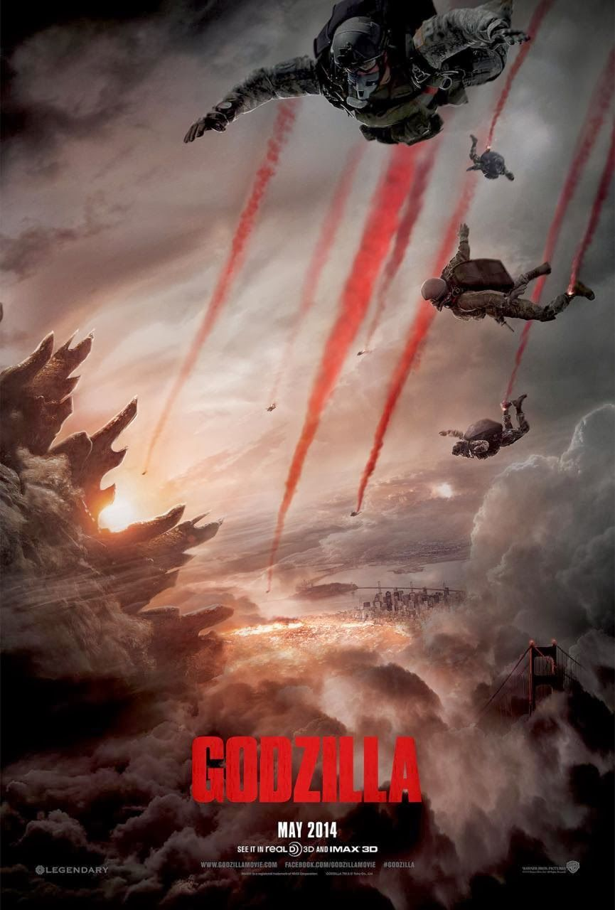 Godzilla now has a new poster!