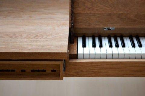 Mesa que se convierte en piano