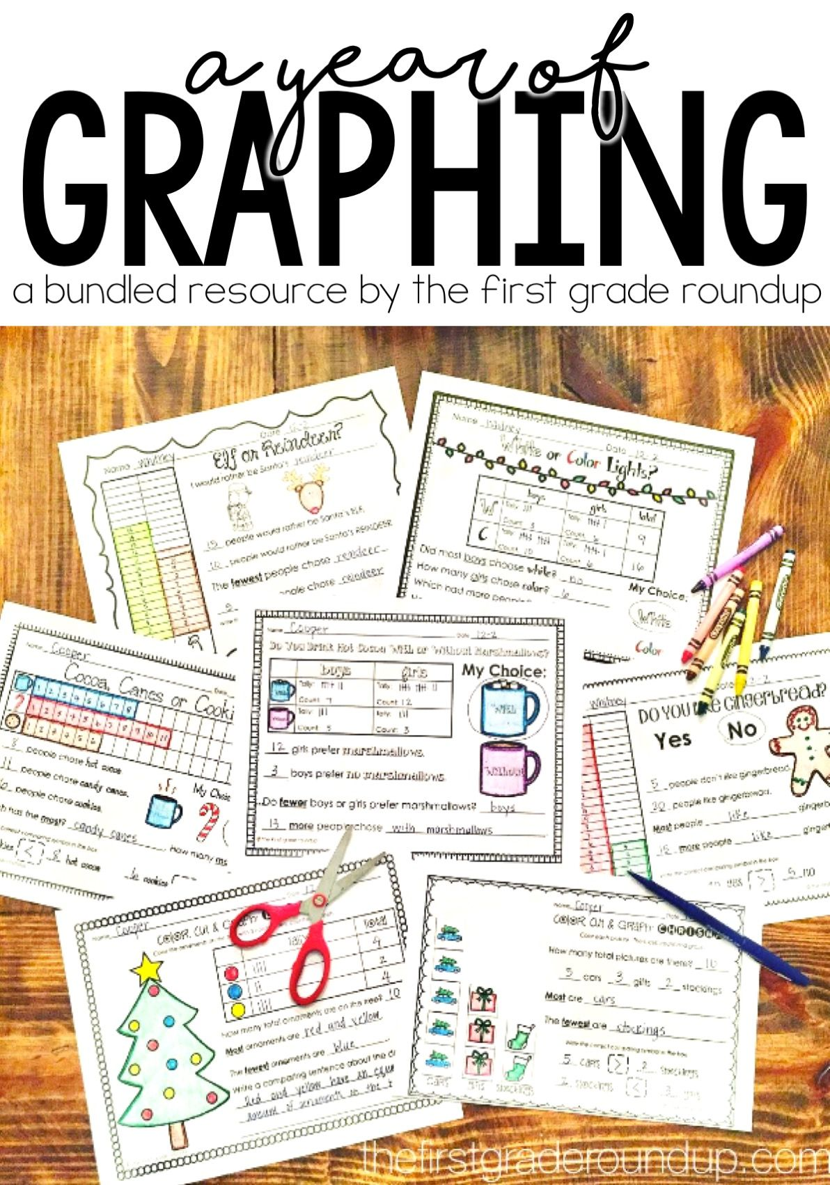 Graphing Worksheets Bundle For K 2 With Images