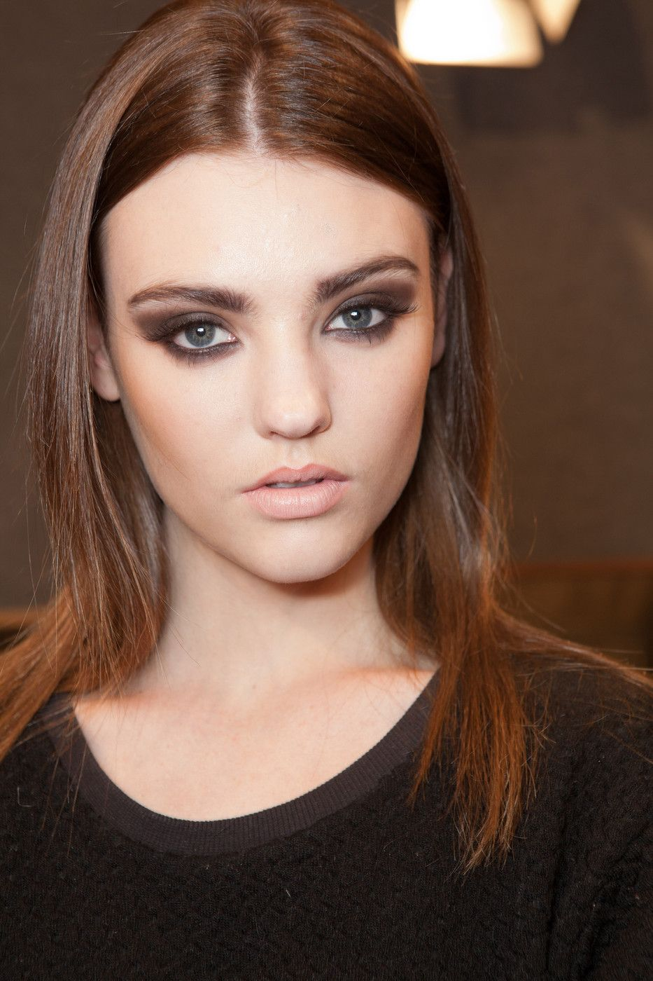 ~Soft features, edgy makeup.