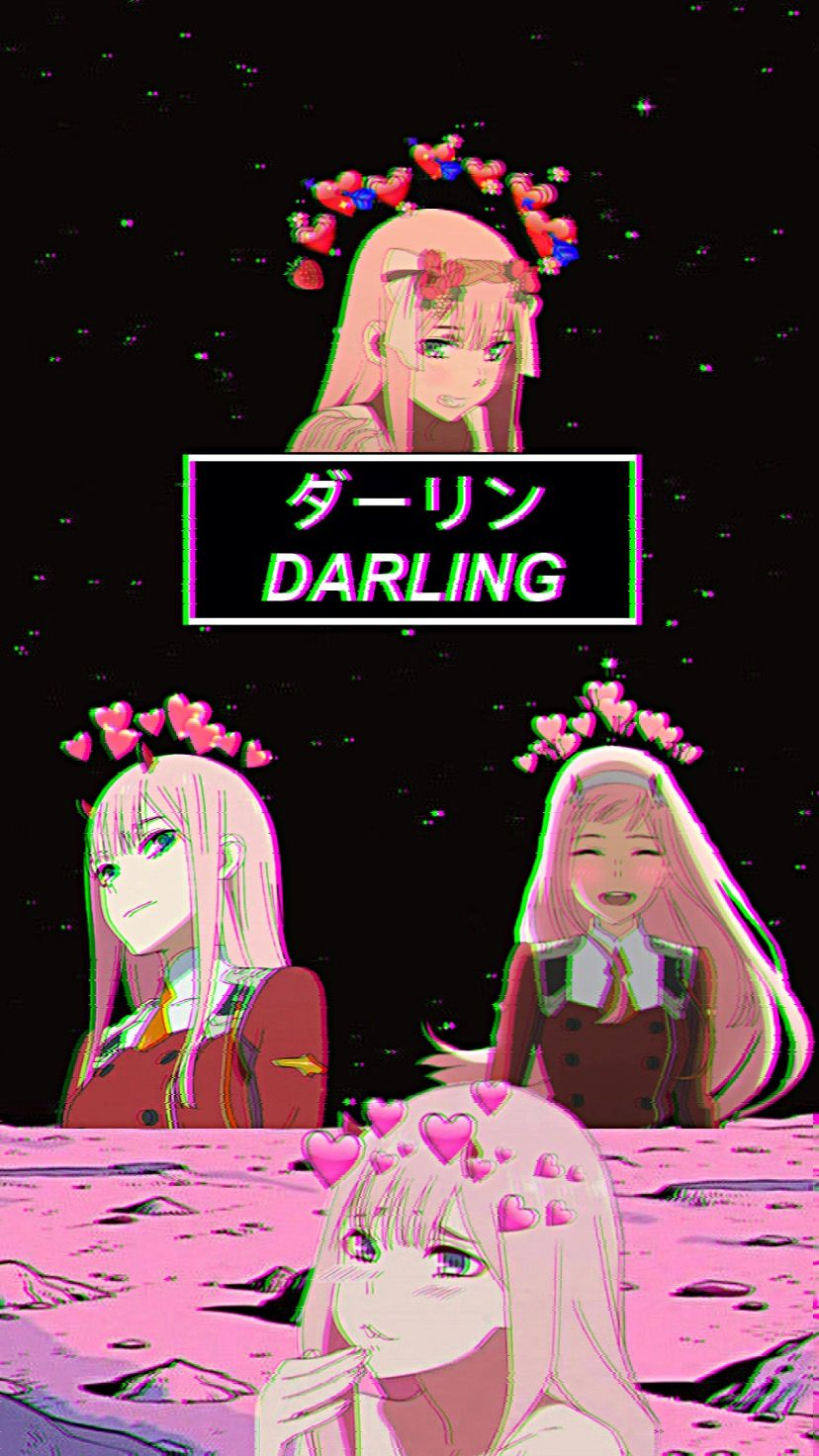 Anime World Darling In The Franxx Zero Two Anime