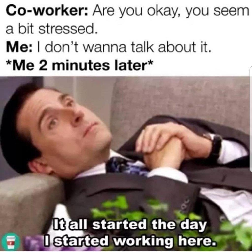 Top 24 Petty Work Memes In 2020 Work Stress Humor Social Work Humor Work Humor