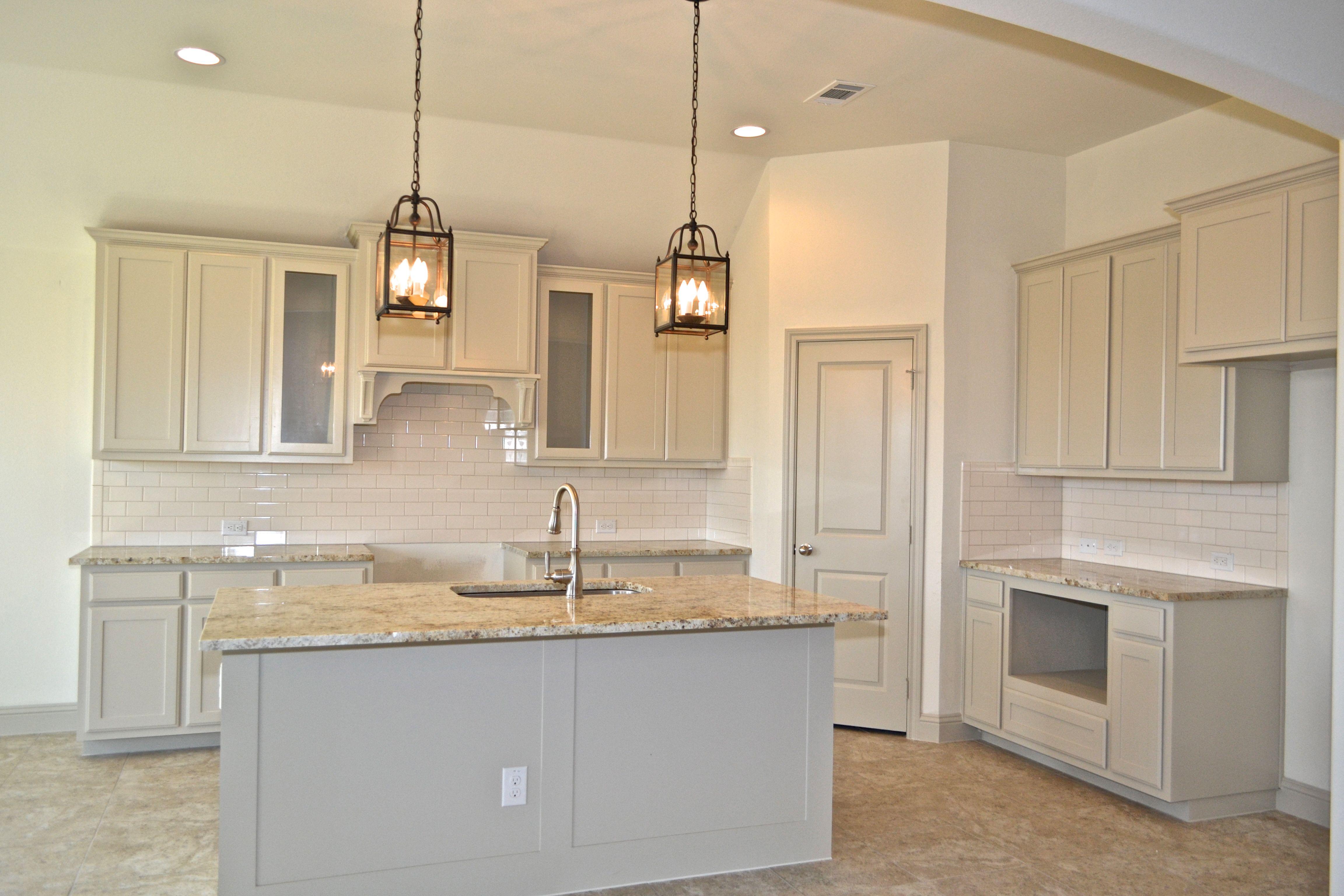 Clarity Homes Better Things Gray Kitchen Granite Designer