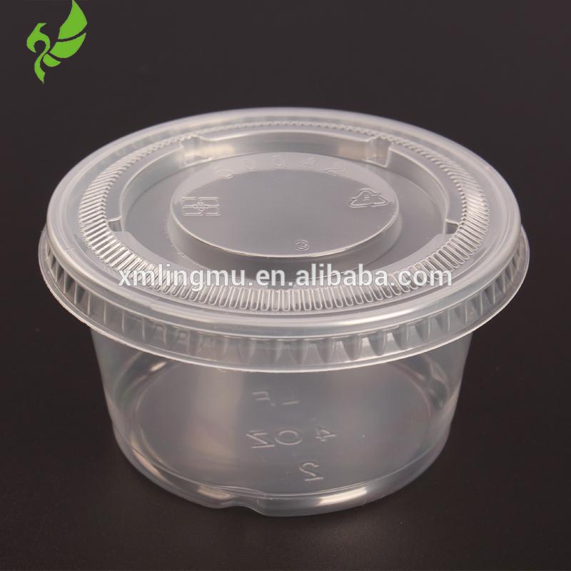 bbb50ea3caf Small Clear Plastic Jello Shot Souffle Portion Condiment Sauce Dip ...