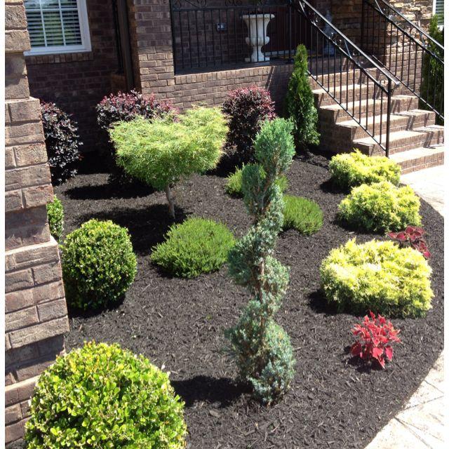 Pin By Ricky Rod On O U T D O O R S P A C E S Mulch Landscaping Diy Landscaping Landscape Design