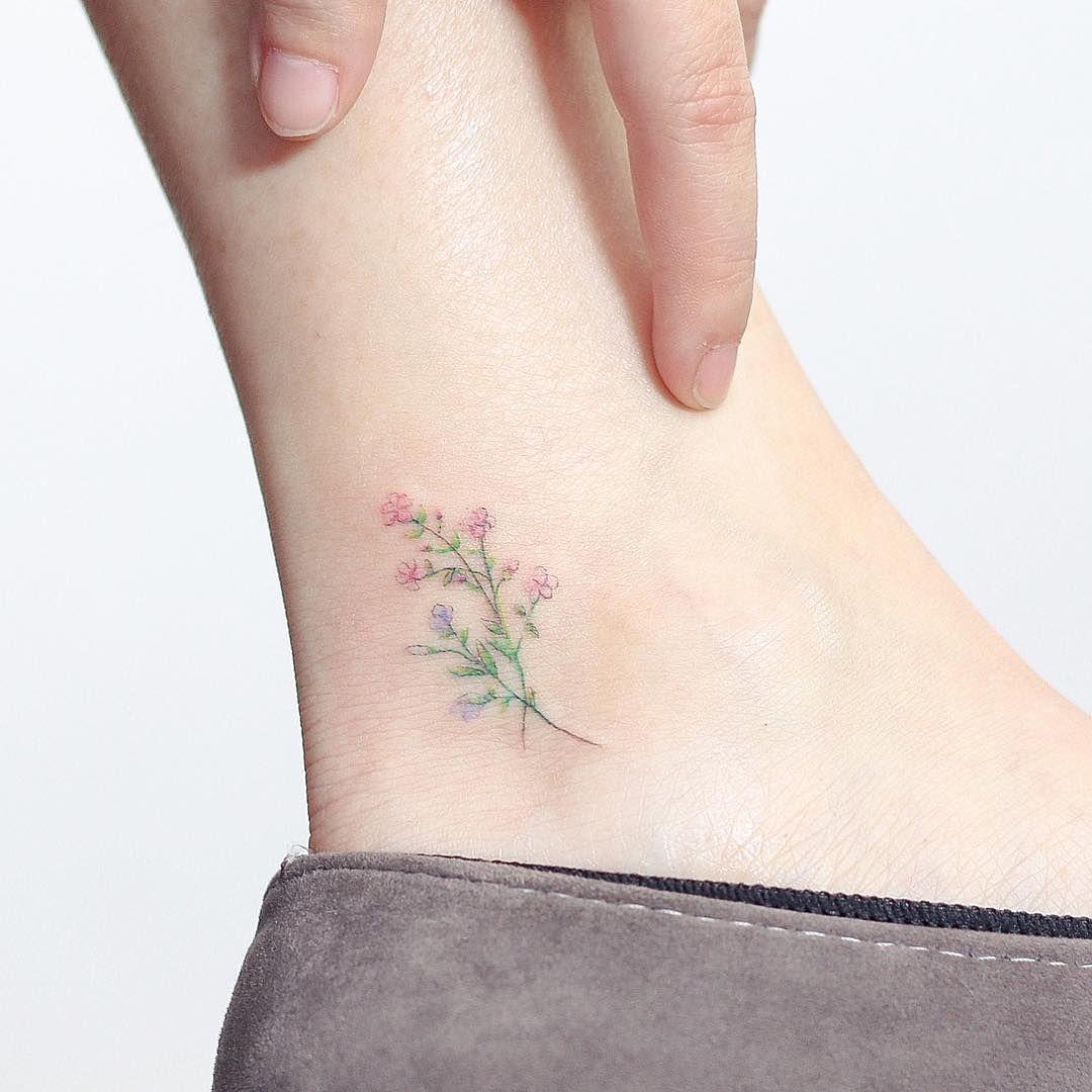 Artist hktattoomini accesorios pinterest tattoos flower