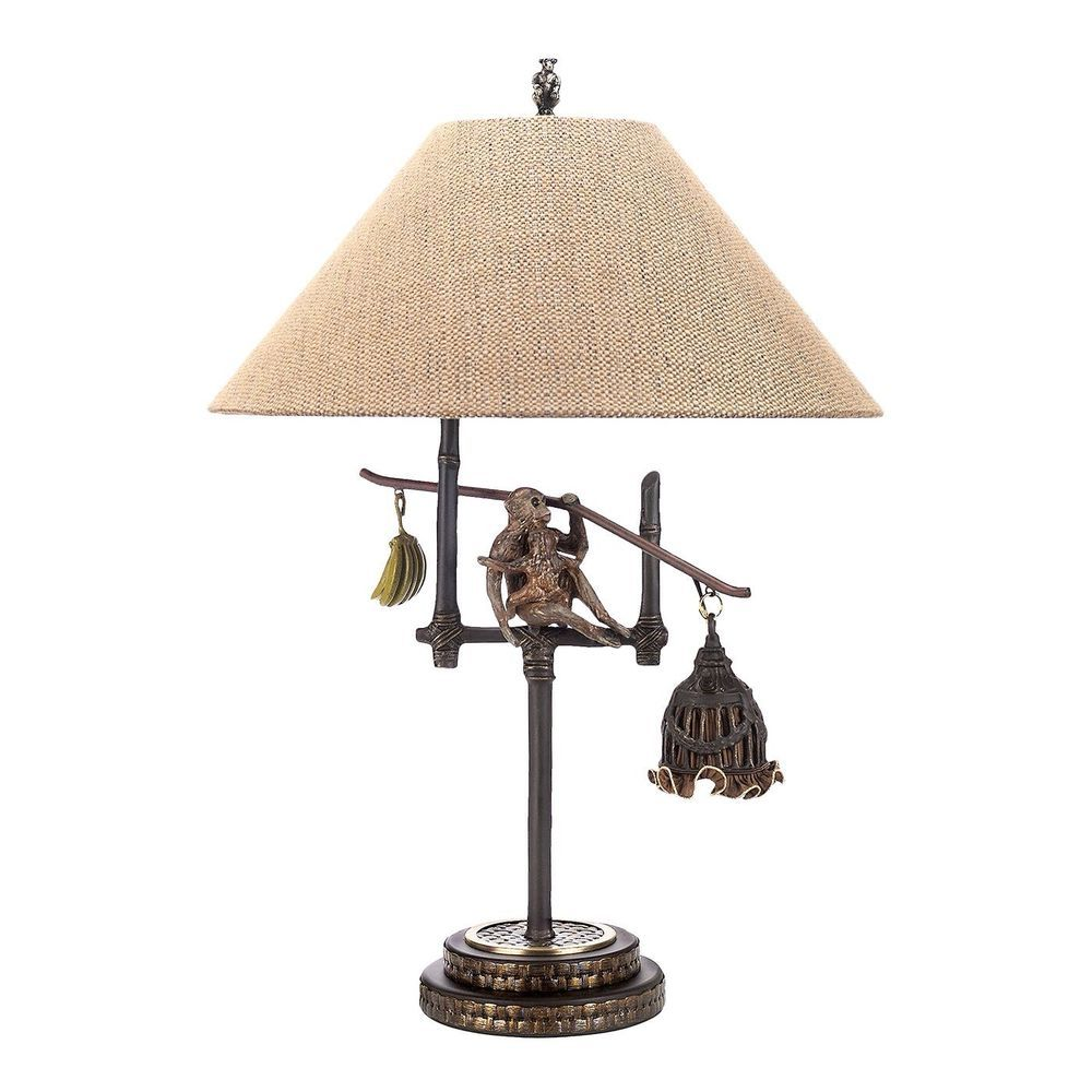 Frederick Cooper Banana Republic Lamp Design W Monkeys And Bananas Msrp 1500 Lamp Design Lamp Monkey And Banana