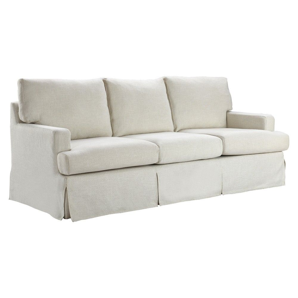 Westport Slipcover Sofa Ivory Linen - Finch | Sofa, Country ...