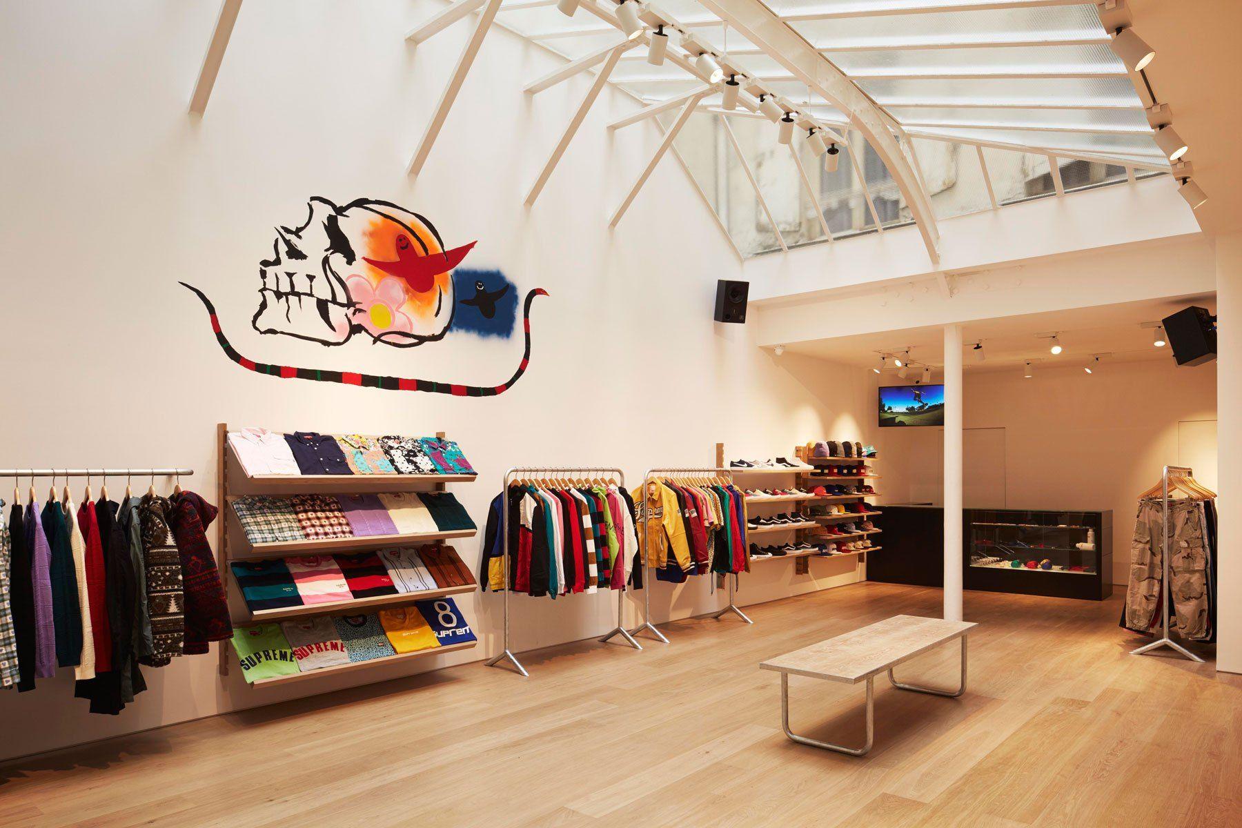 Inside the Supreme Paris Store  dd1a62db62
