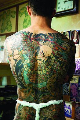Japanese Tattoos From Yakuza To Artisans Aesthetes Tatoos