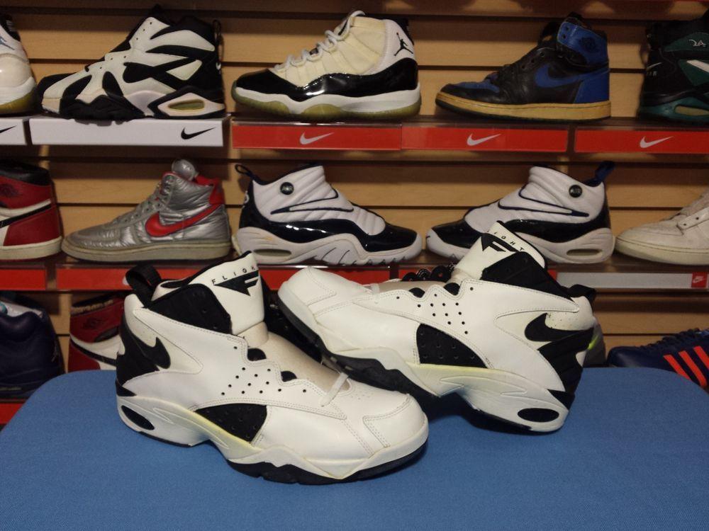 VTG OG 1993 Nike Air Flight Maestro Scottie Pippen Player Sample sz 16  White PE #