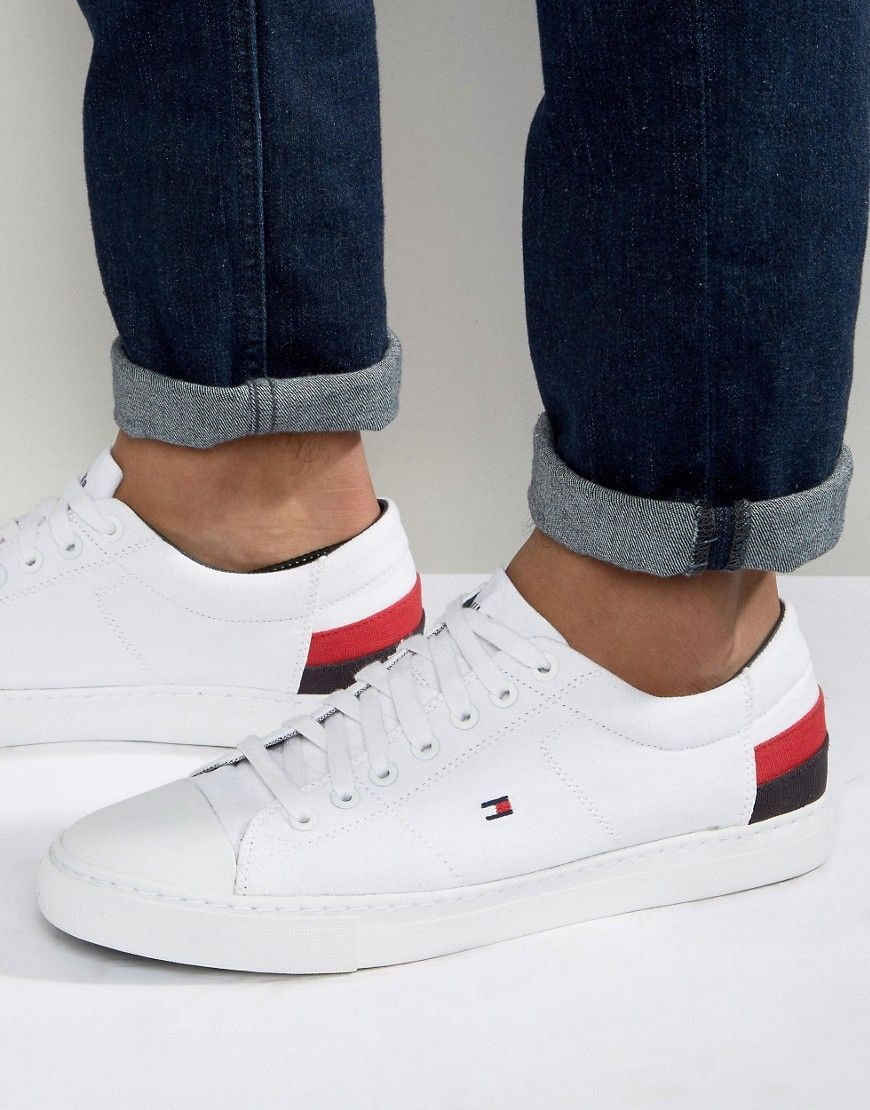 TOMMY HILFIGER JAY SNEAKERS - WHITE.  tommyhilfiger  shoes    Sneakers 8e2571bfe03