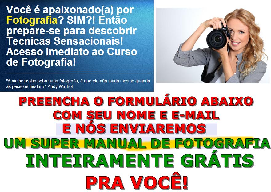 Curso de Fotografia On-line