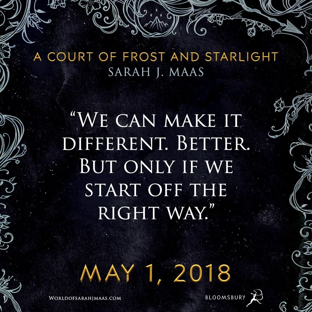 A Court Of Frost And Starlight By Sarah J Maas Sarah J A Court