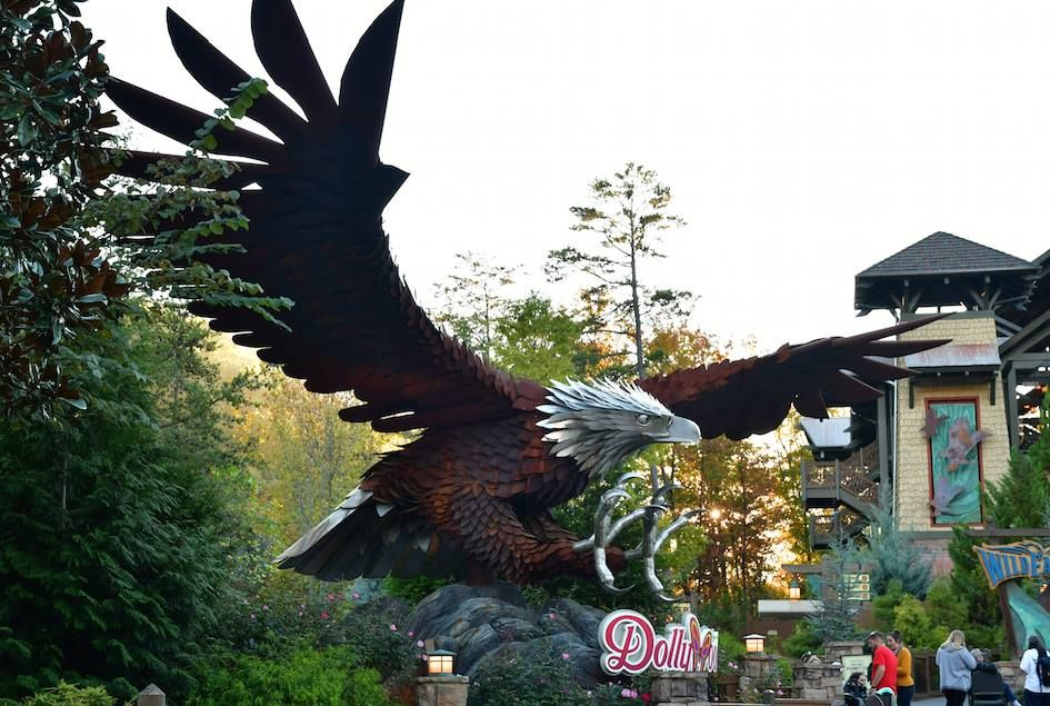 Wild Eagle America's first wing coaster, the first ride