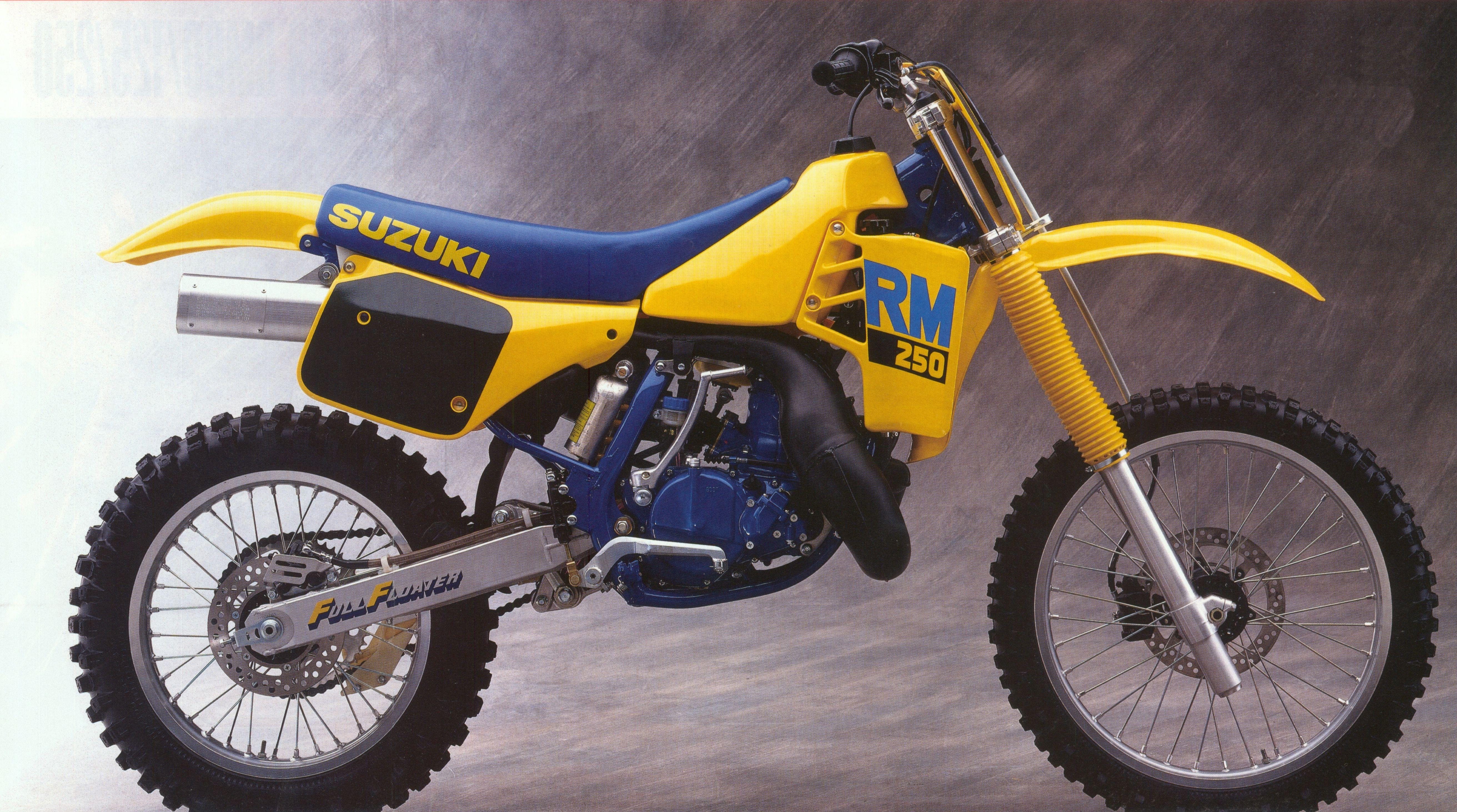 1983 suzuki rm250 ad vintage dirt pinterest dirt biking motocross and motocross bikes