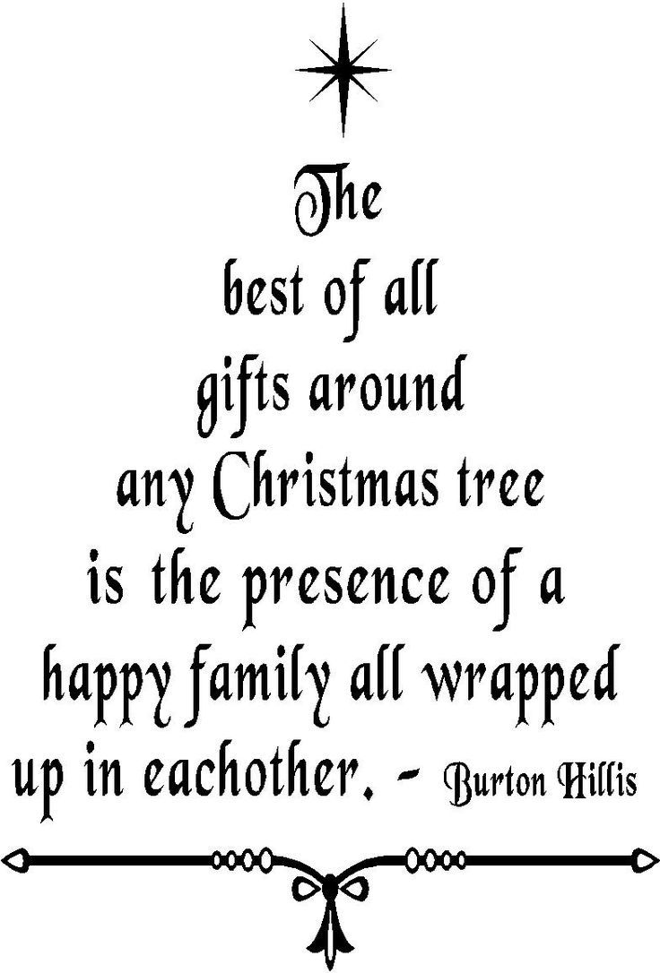 The older I get the more true this is... Wall Quote Christmas Tree ...