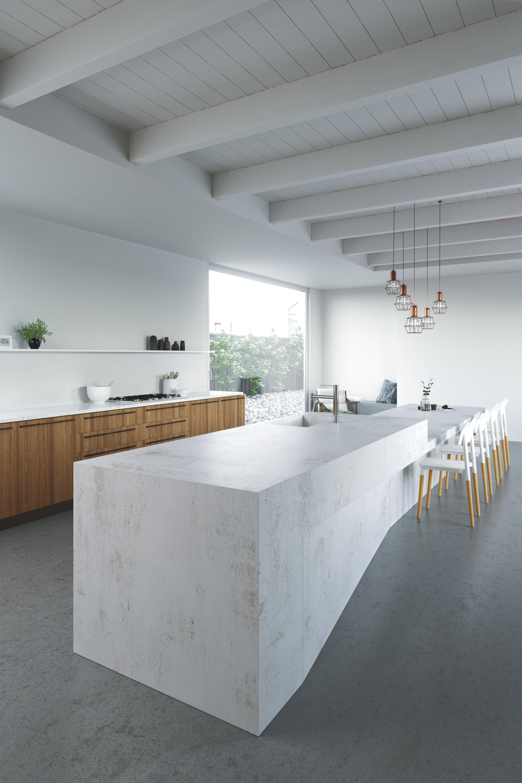 Kucheninseln Design Und Funktionen My Perfect Kitchen Magazin Kuche Beton Kuche Mit Insel Arbeitsplatte