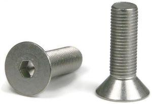 3 4 10 Flat Socket Head Screw 304 Stainless Steel 316 Stainless Steel Sockets Screws