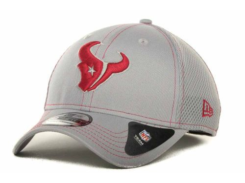 2ac63d8440a Houston Texans New Era NFL Gray Neo 39THIRTY Cap Hats. Find this Pin and  more ...