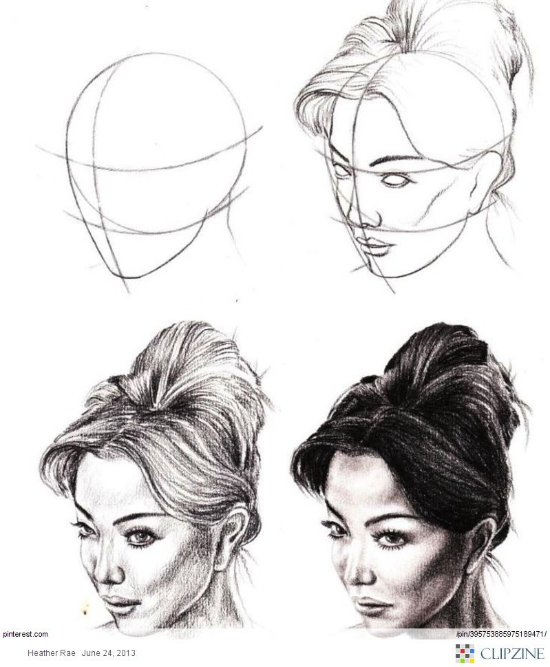 How to draw faces pencil tutorial anatomy drawings veri art school