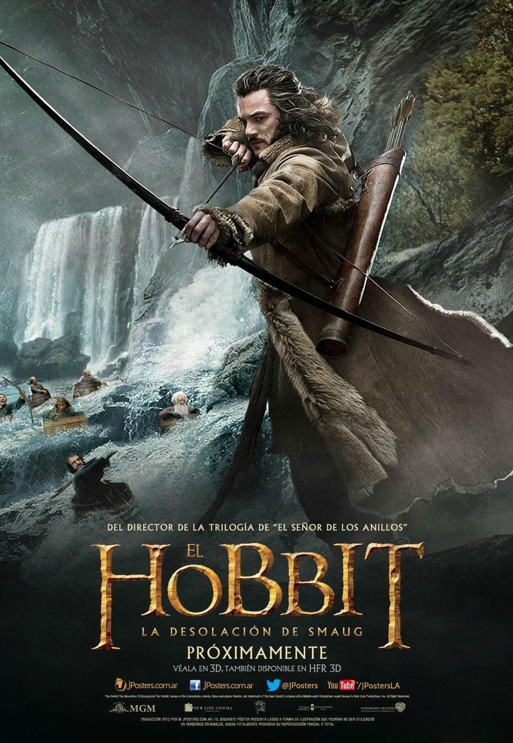 Posters Internationaux Du Hobbit La Desolation De Smaug Le Journal De Cacahuète Hobbit La Désolation De Smaug Bilbo Le Hobbit