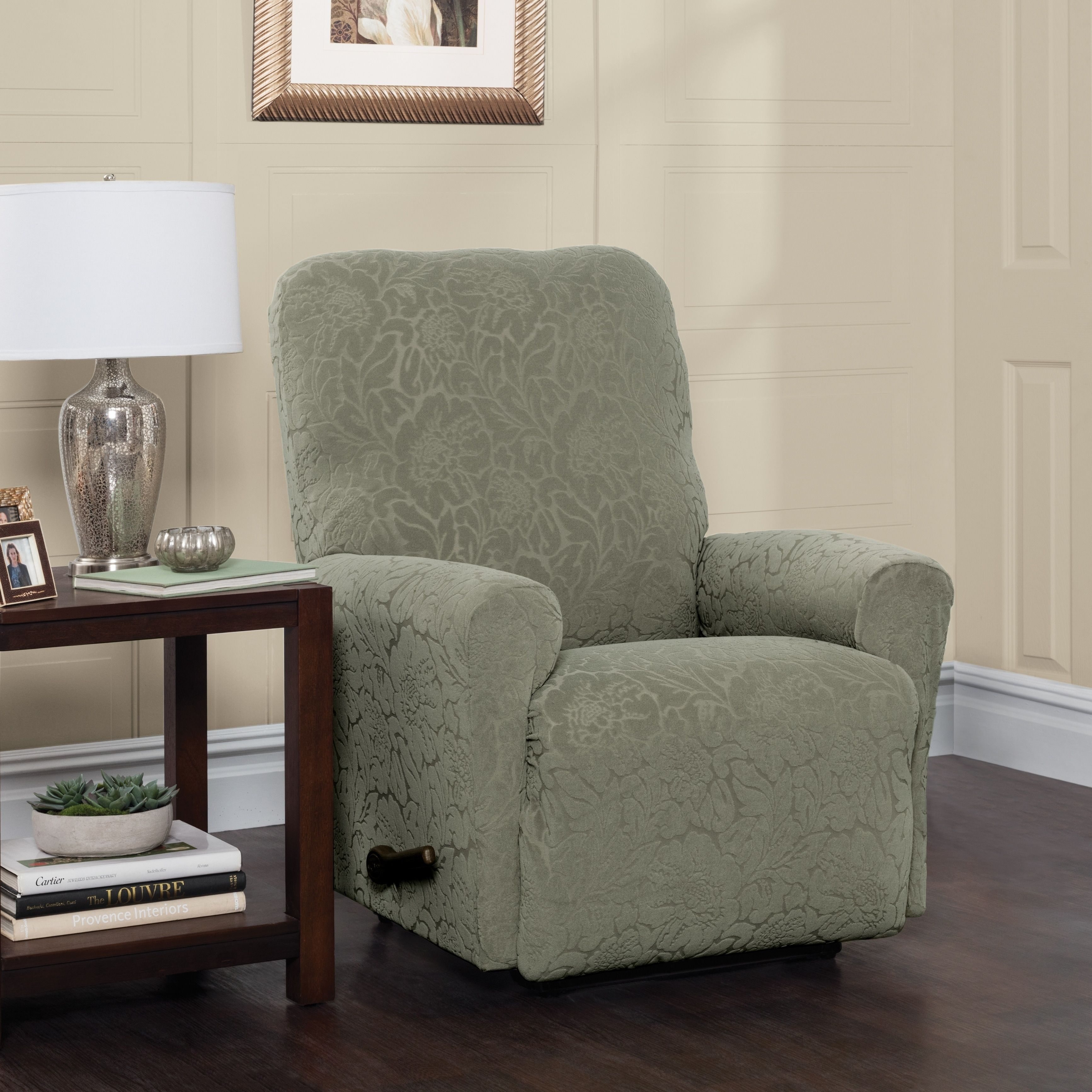 slipcover for slipcovers watch recliners recliner youtube best