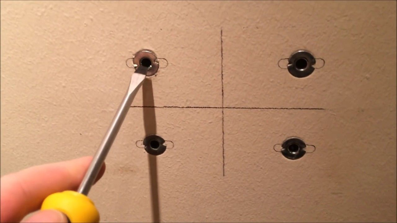 How To Remove Wall Anchors In Less Than One Minute Youtube