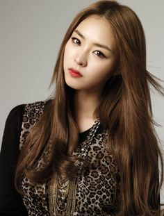Asian korean hair