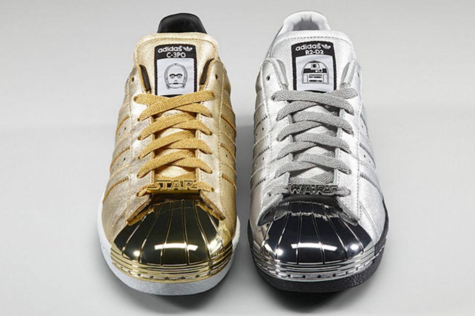 825142846b0 Para coleccionistas. Adidas Originals ha puesto a la venta una edición  limitada basada en la saga de ciencia ficción. My Star Wars Superstar 80 s