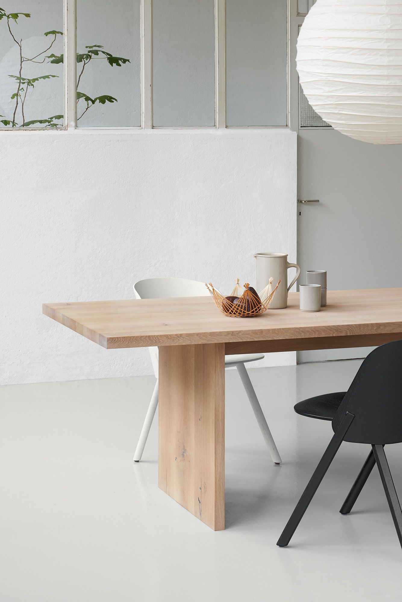 Ashida Table By Phillip Mainzer Japanese Dining Table Oak