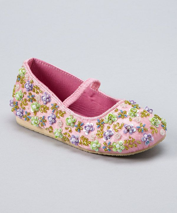 Look at this #zulilyfind! Fairy Dreams Pink Tiny Bead Blossoms Flat by Fairy Dreams #zulilyfinds
